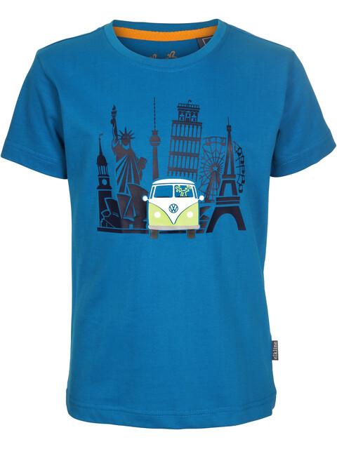 Elkline Umdiewelt Kortærmet T-shirt Børn blå